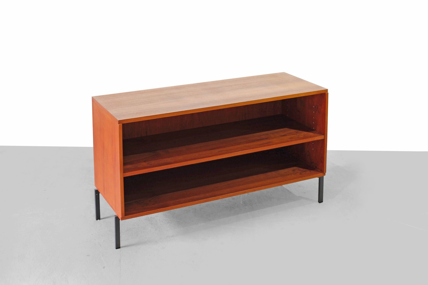Teak sideboard by herbert hirche for holz pfel 1950s for for Sideboard 4 meter lang