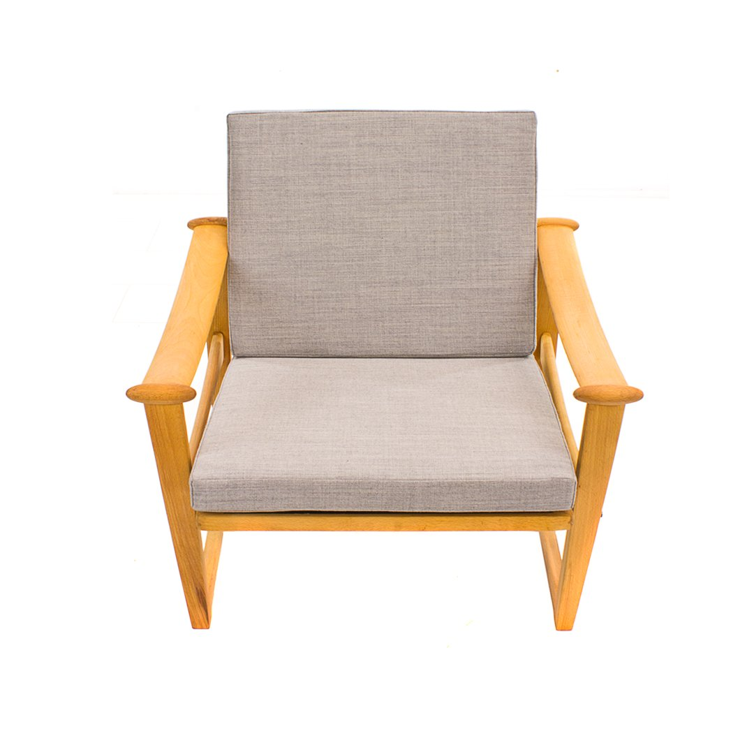 Mid century spade chair by finn juhl for pastoe for sale for Z chair mid century