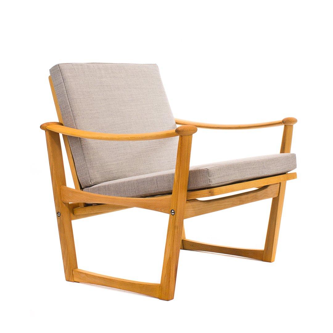 Mid Century Spade Chair By Finn Juhl For Pastoe For Sale