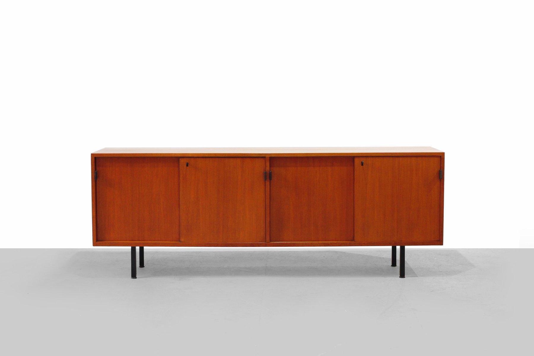 enfilade en teck par florence knoll pour knoll 1950s en. Black Bedroom Furniture Sets. Home Design Ideas