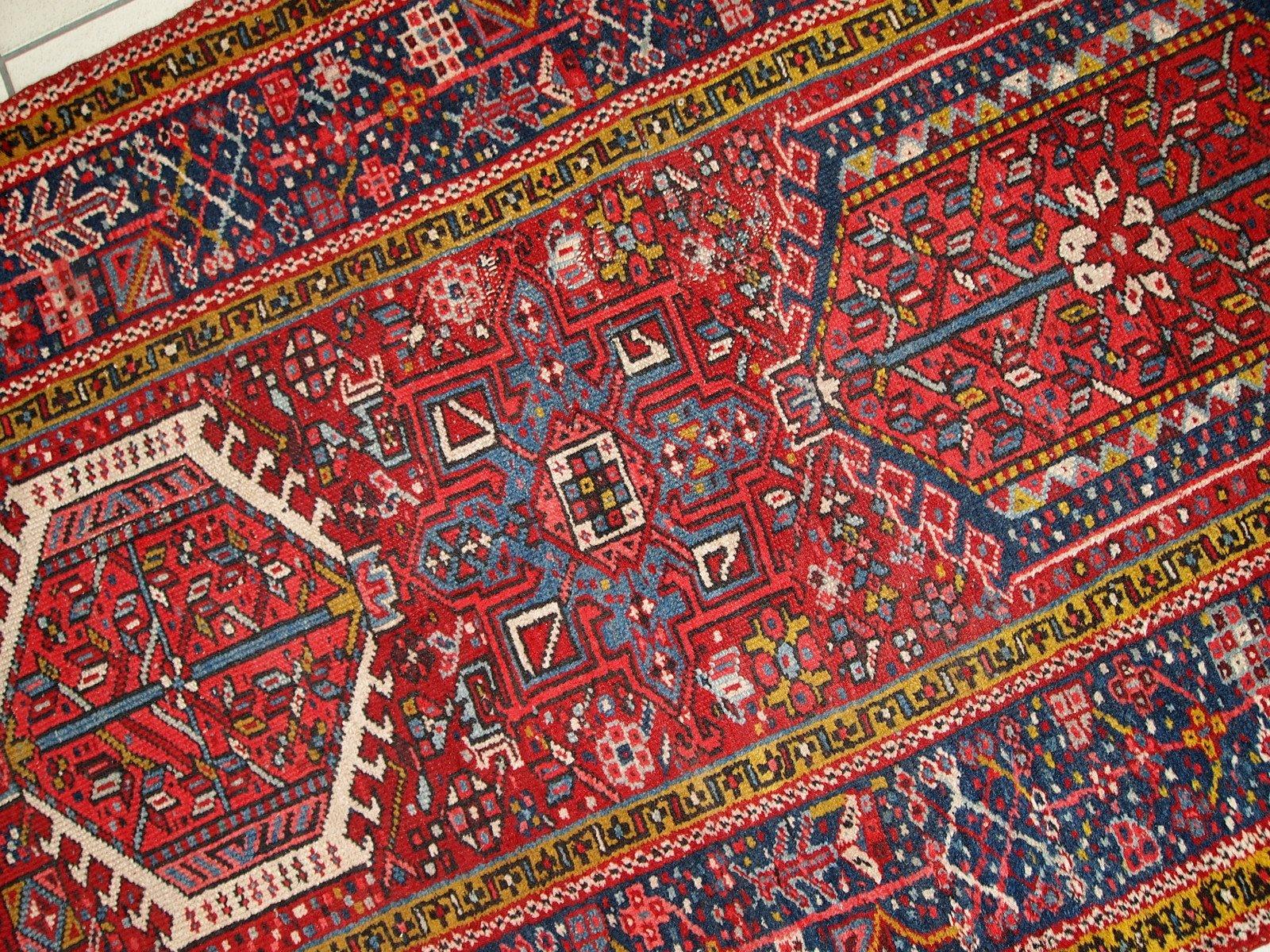 Tapis De Couloir Kahrajeh Vintage Fait Main Iran 1920s En Vente Sur Pamono