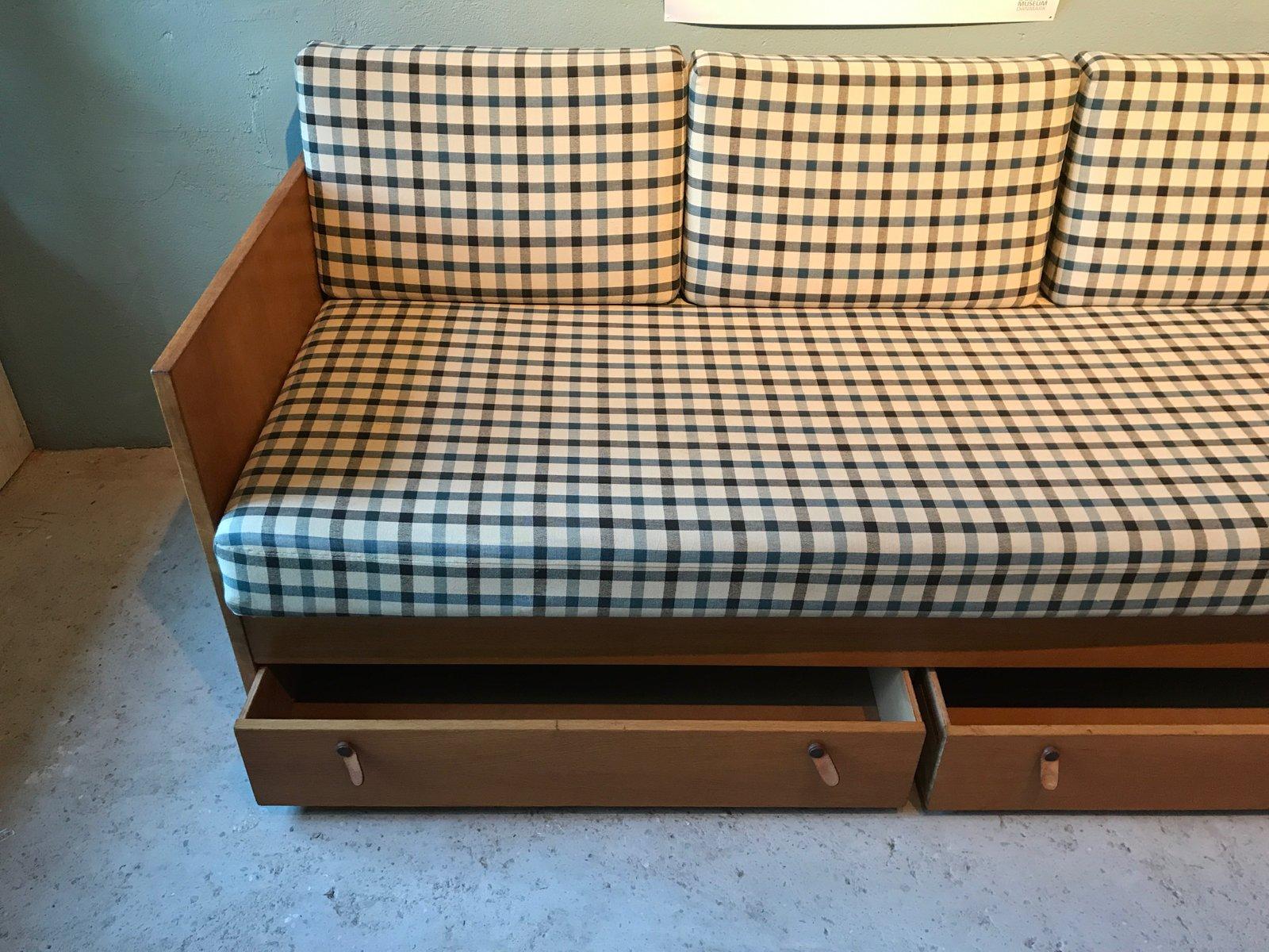 d nisches vintage schlafsofa von b rge mogensen f r s borg m belfabrik bei pamono kaufen. Black Bedroom Furniture Sets. Home Design Ideas