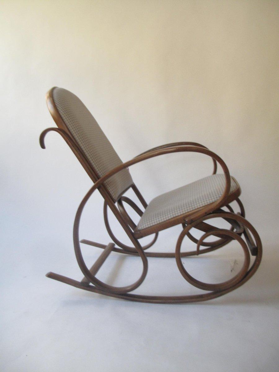 Antiker schaukelstuhl von michael thonet bei pamono kaufen for Antiker schaukelstuhl