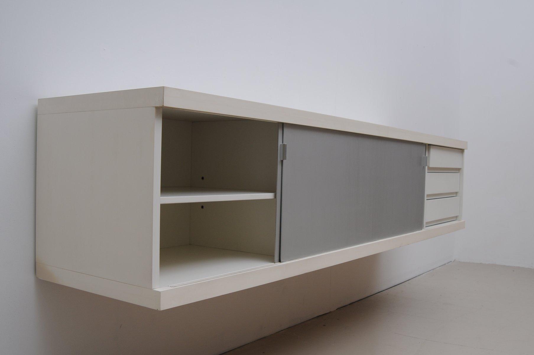 schwebendes mid century sideboard von horst br ning f r behr bei pamono kaufen. Black Bedroom Furniture Sets. Home Design Ideas