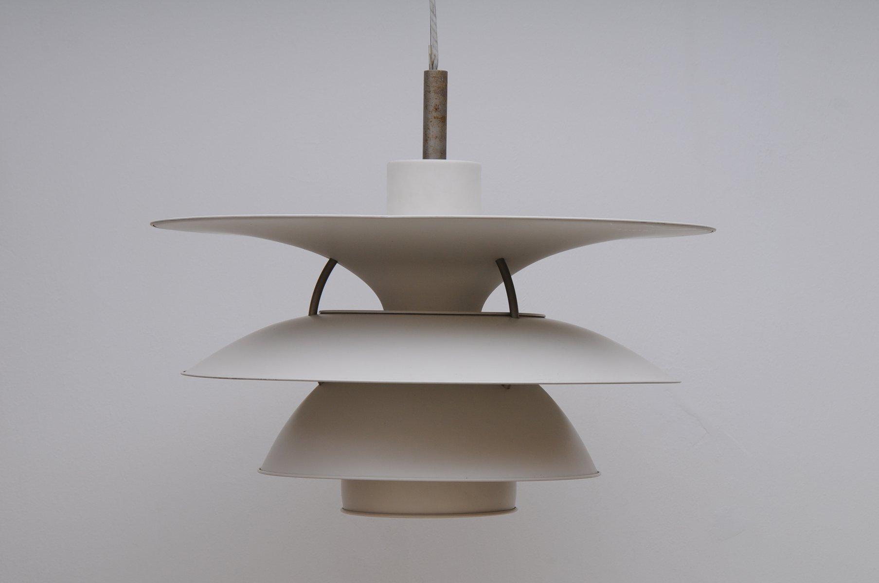 vintage-ph-6-1-2-haengelampe-von-poul-henningsen-fuer-louis-poulsen-1 Schöne Lampe Mit Mehreren Lampenschirmen Dekorationen