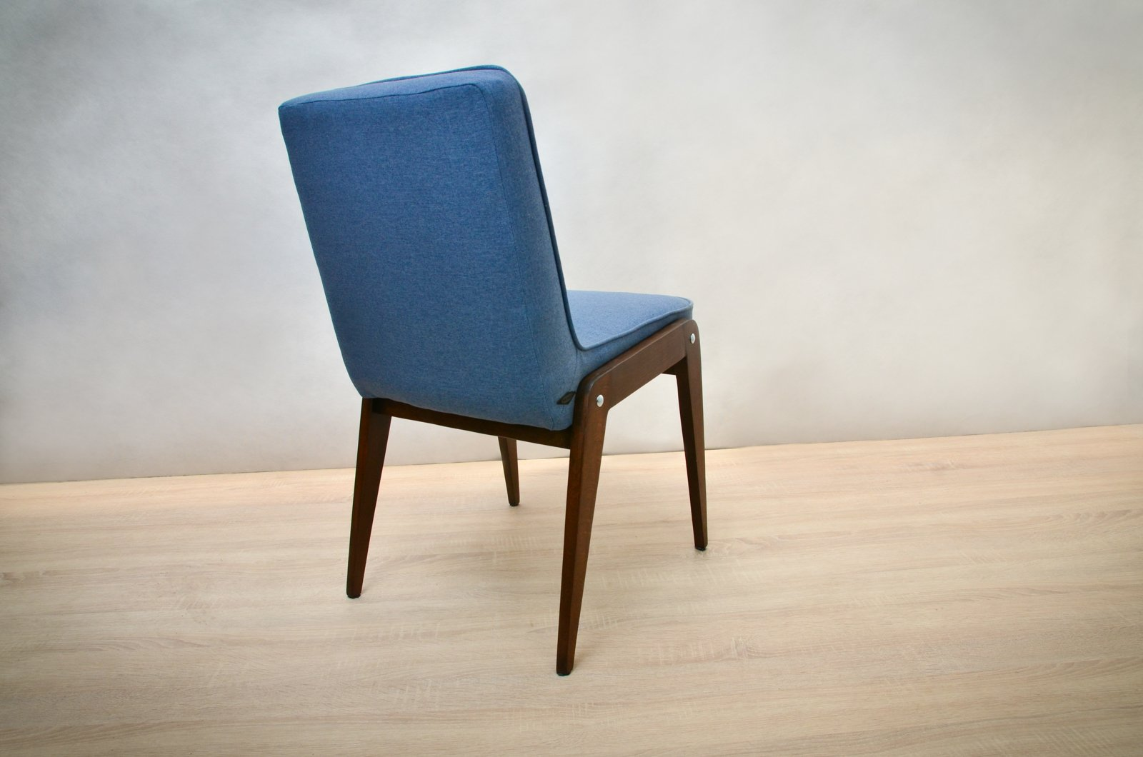 Light blue dining chairs - Aga Light Blue Dining Chairs By J Zef Marian Chierowski 1960s Set Of 4
