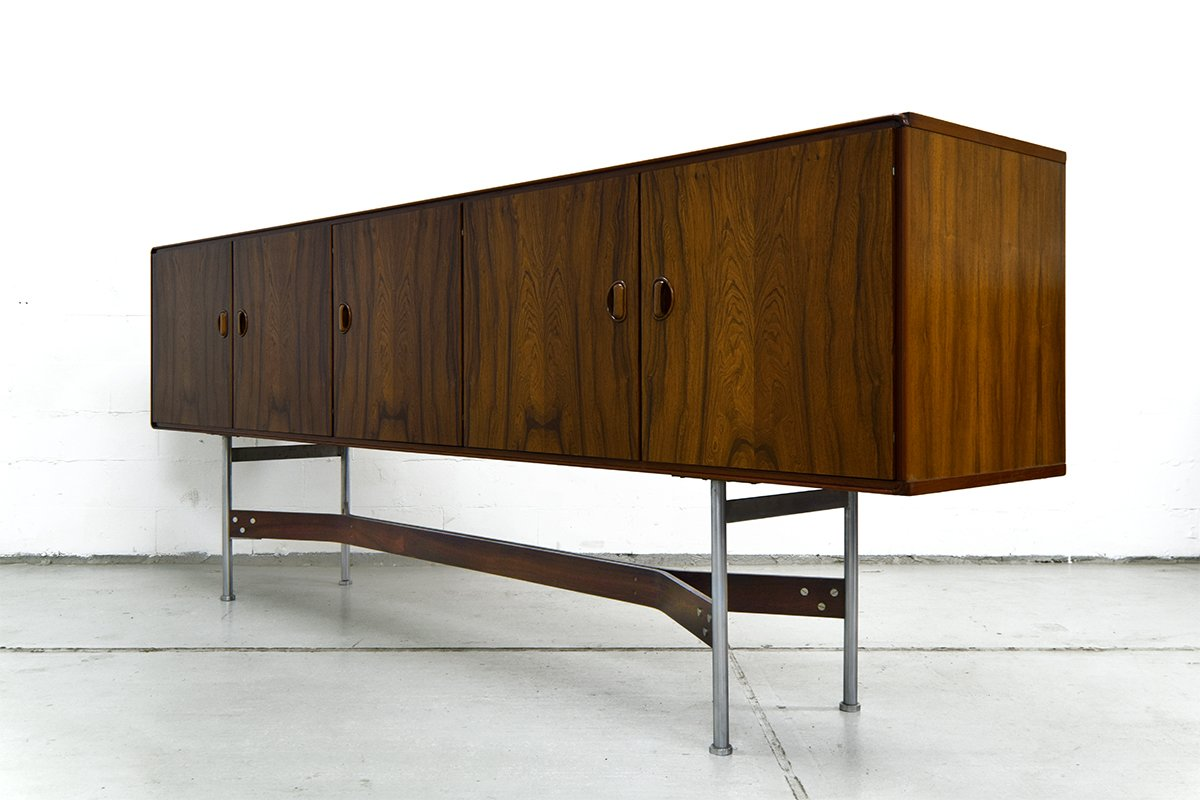 mid century rosewood sideboard from fristho for sale at pamono. Black Bedroom Furniture Sets. Home Design Ideas