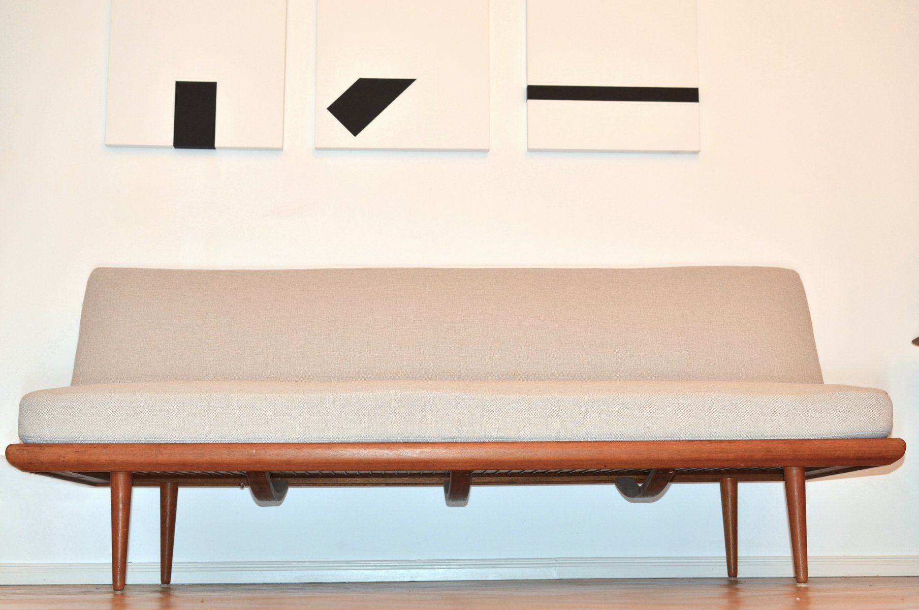 Daybed danish  Mid-Century Danish Minerva Daybed by Peter Hvidt & Orla Mølgaard ...