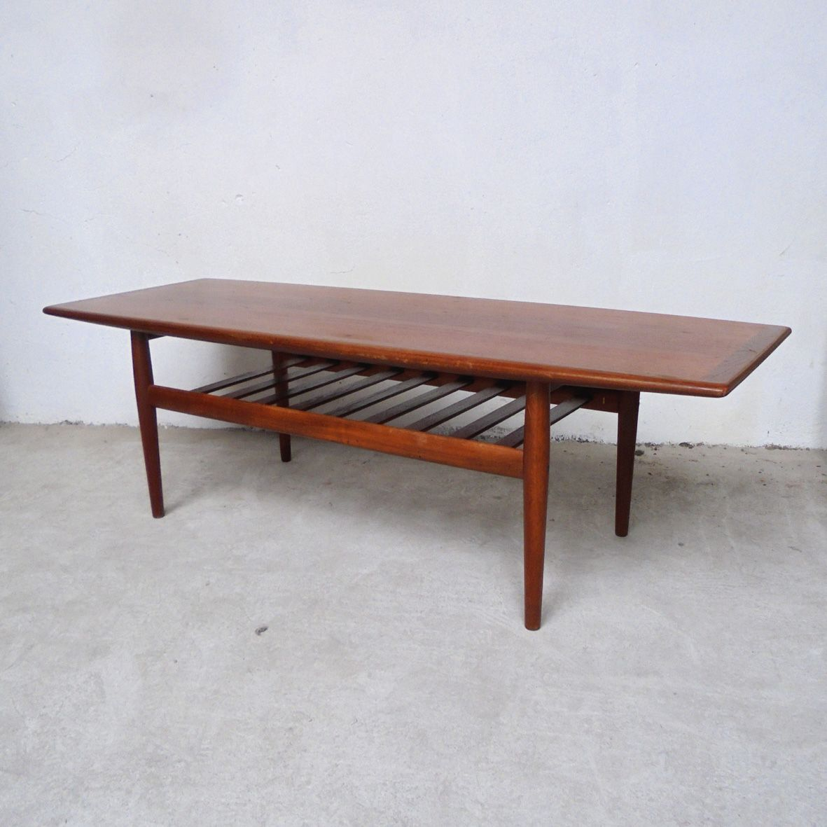 Large Danish Coffee Table By Grete Jalk For Glostrup