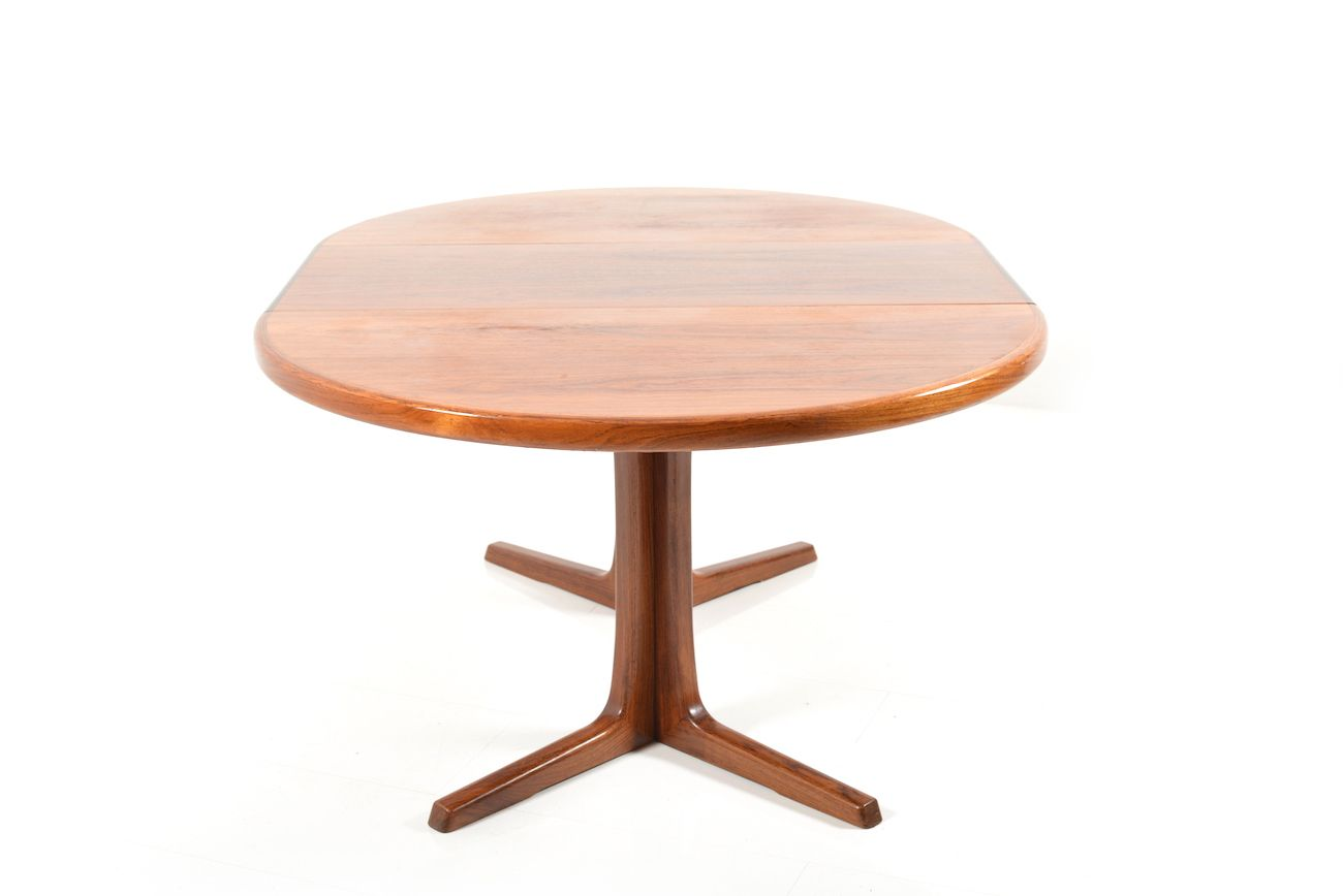 Round Extendable Rosewood Dining Table from Faarup  : round extendable rosewood dining table from faarup mobelfabrik 1960s 6 from www.pamono.com.au size 1300 x 868 jpeg 32kB