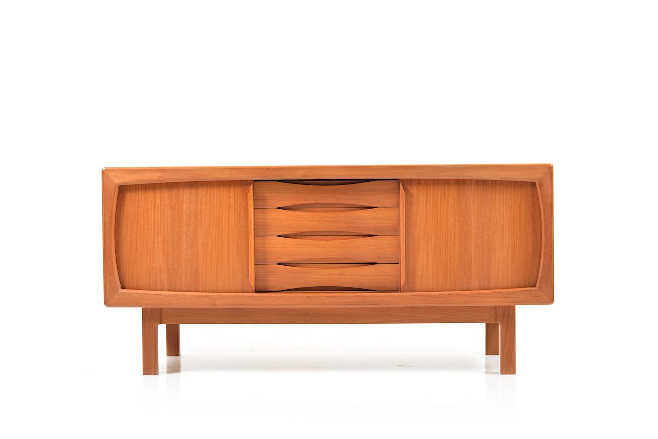 d nisches teak sideboard von h p hansen bei pamono kaufen. Black Bedroom Furniture Sets. Home Design Ideas
