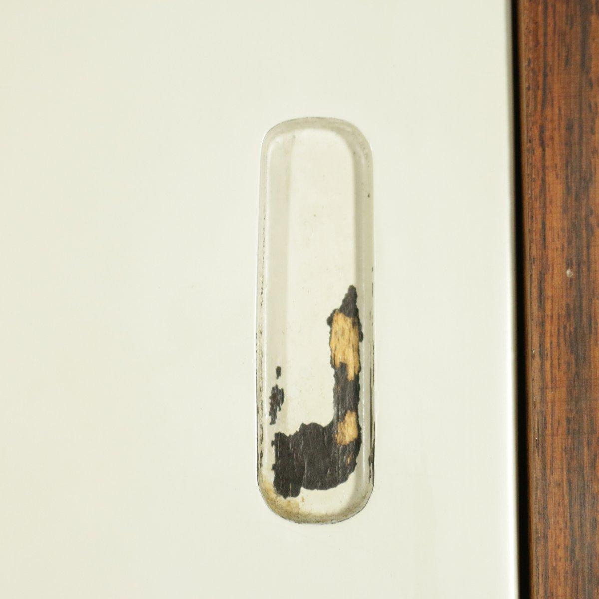 b cherregal aus palisander furnier messing metall 1960er bei pamono kaufen. Black Bedroom Furniture Sets. Home Design Ideas