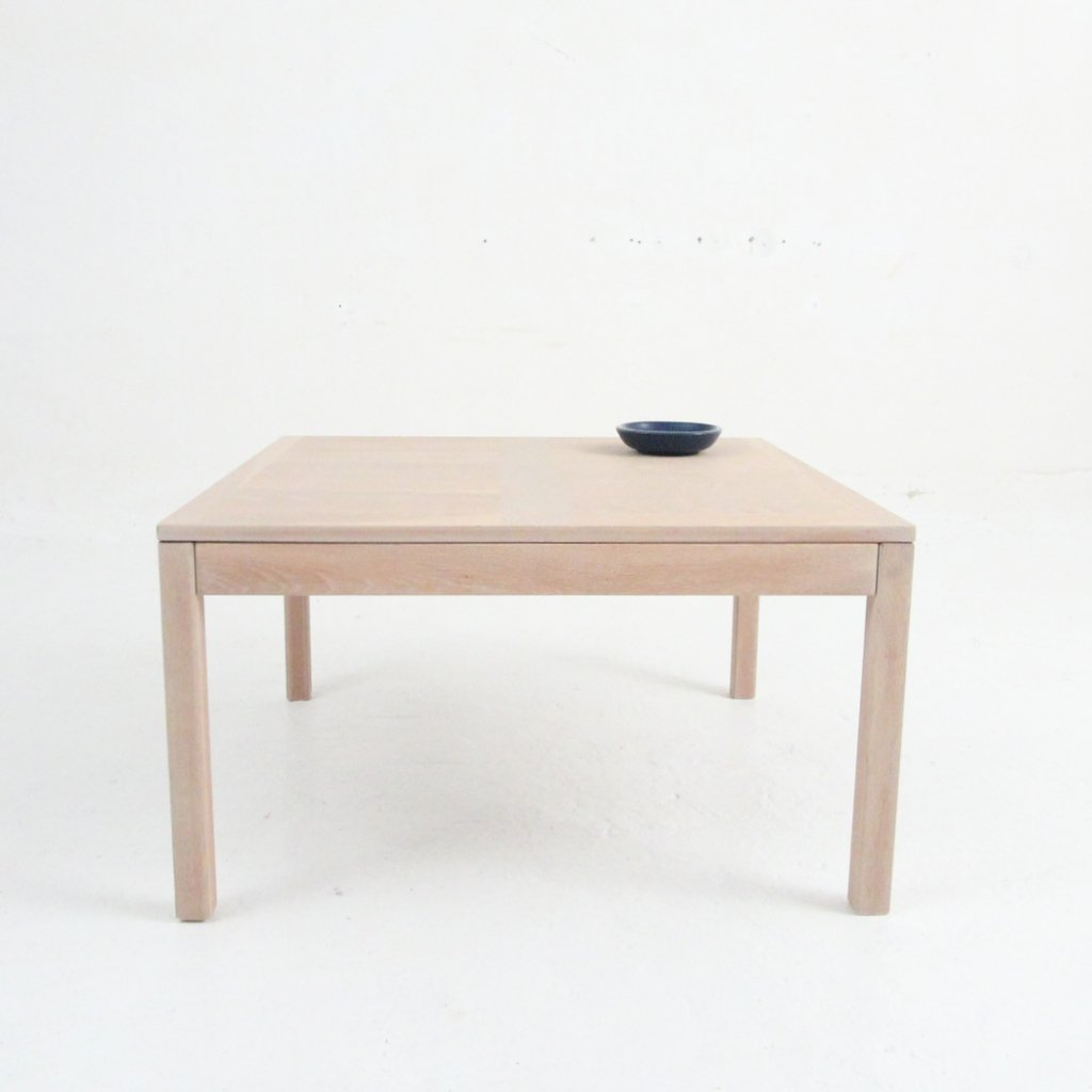 Vintage Square Coffee Table In Oak From Vejle Mobelfabrik For Sale At Pamono
