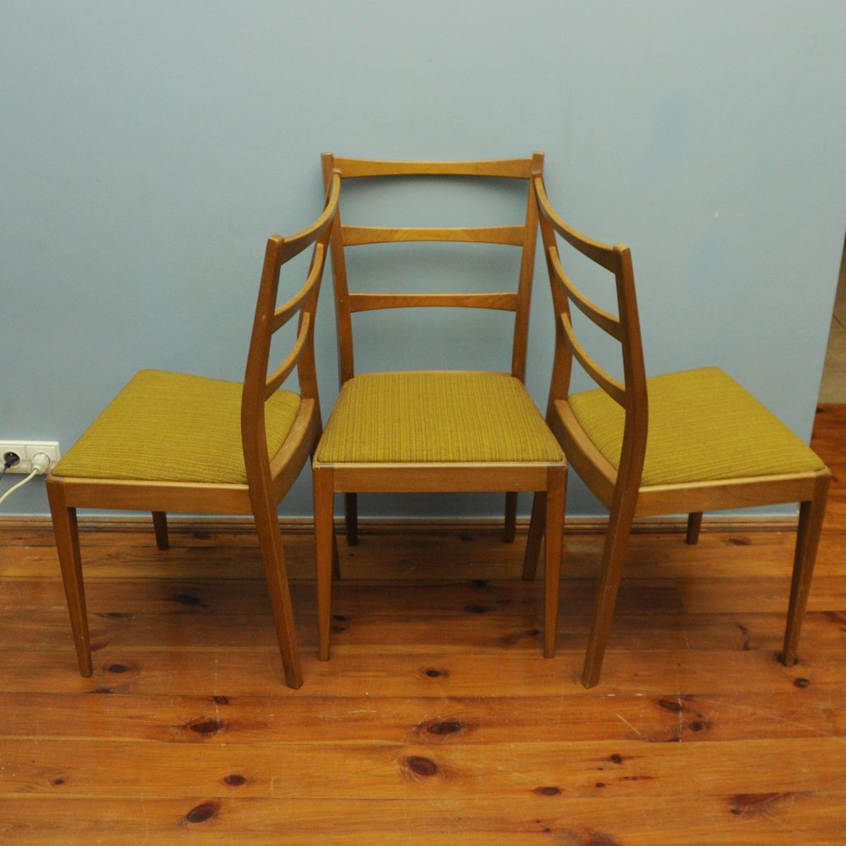 Danish Chairs 1960s Set Of 3 For Sale At Pamono