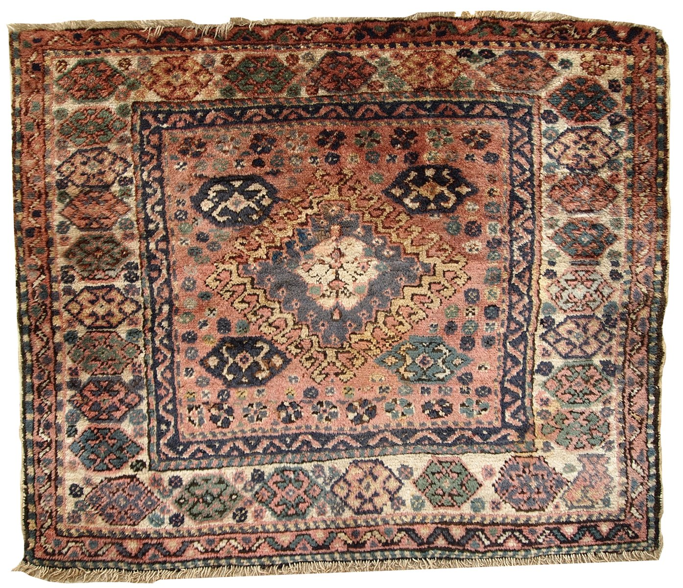 tapis bagface kurde vintage fait main iran 1930 en vente sur pamono. Black Bedroom Furniture Sets. Home Design Ideas