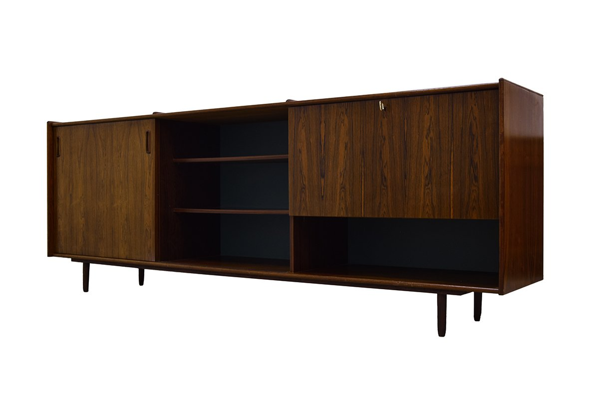 Vintage rosewood sideboard with bar for sale at pamono for Sideboard x7
