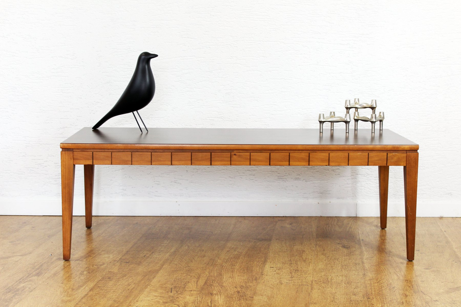 Vintage Scandinavian 45 3 Coffee Table from Mersman for sale at Pamono