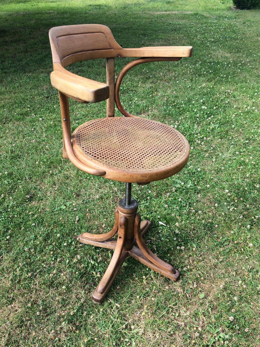 Antique Desk Chair By Kohn For Sale At Pamono