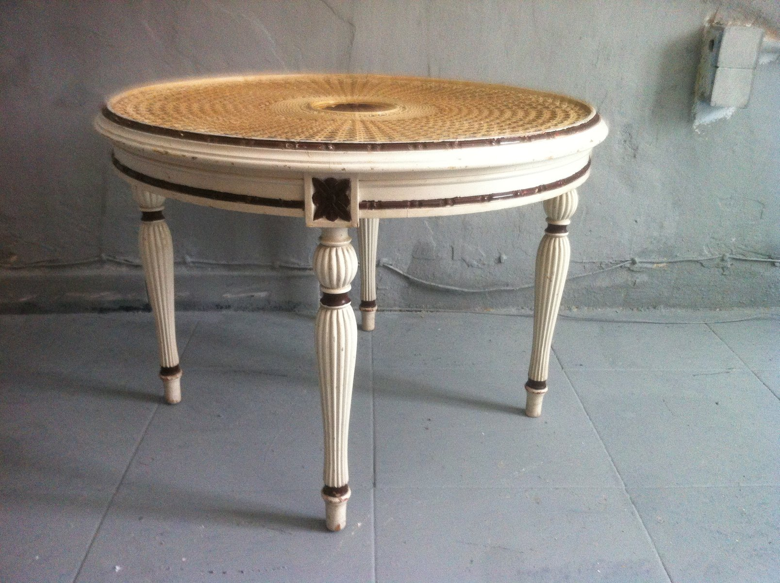 ... Carved Round Coffee Table, 1960s 8. $739.00. Price Per Piece