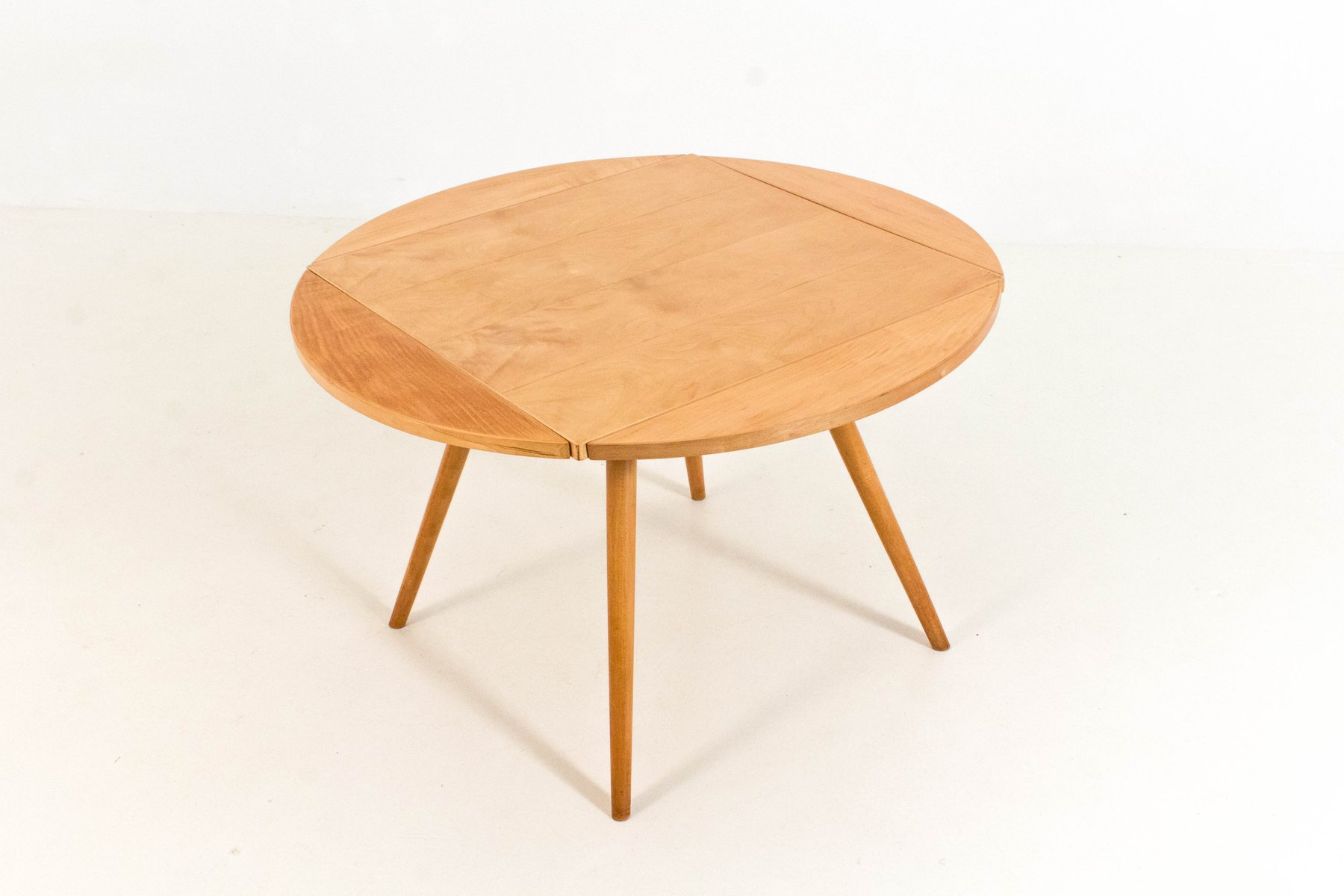 Vintage Drop Leaf Table with 3 Chairs by Cees Braakman for Pastoe