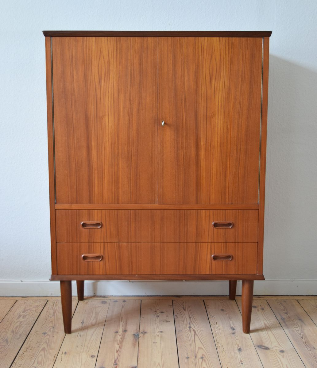 1960s kitchen cabinets for sale mid century teak cabinet with two drawers 1960s 7282