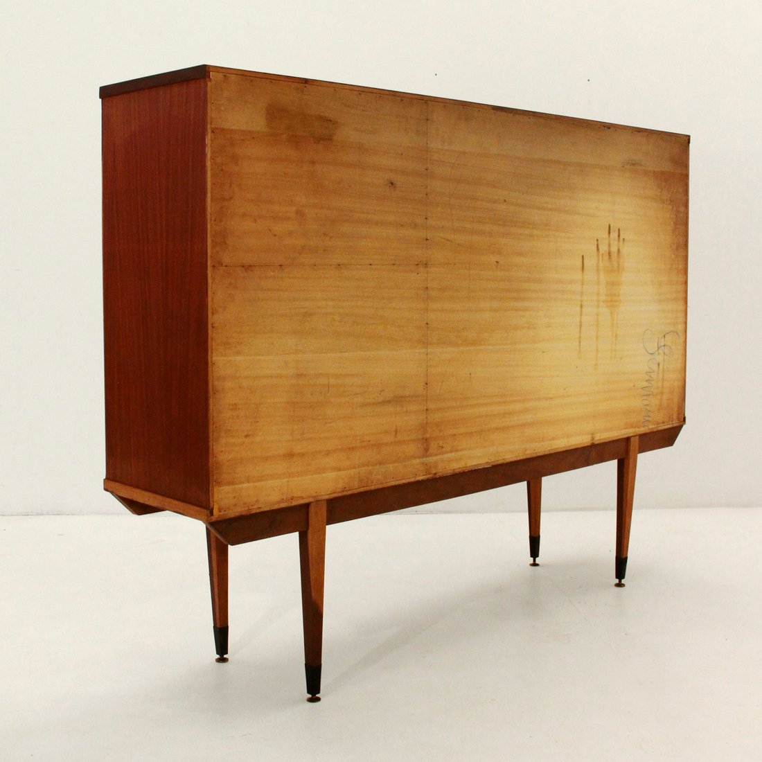 Mid Century Credenza For Sale: Mid-Century Italian Credenza, 1950s For Sale At Pamono