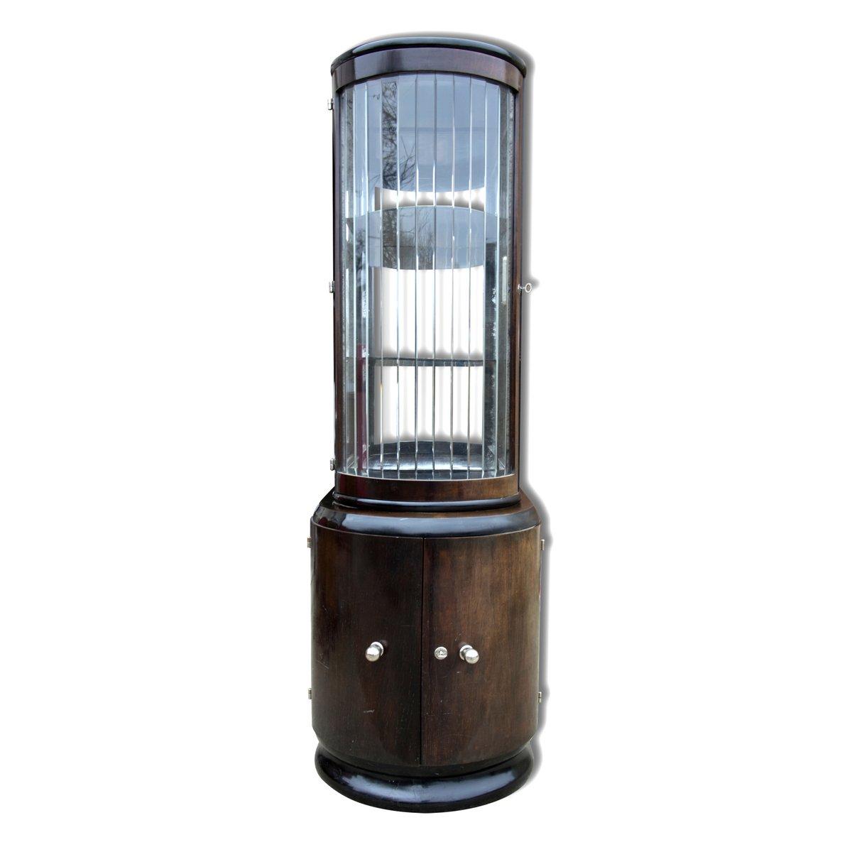 meuble de rangement pour boissons art d co en placage de noyer 1930s en vente sur pamono. Black Bedroom Furniture Sets. Home Design Ideas