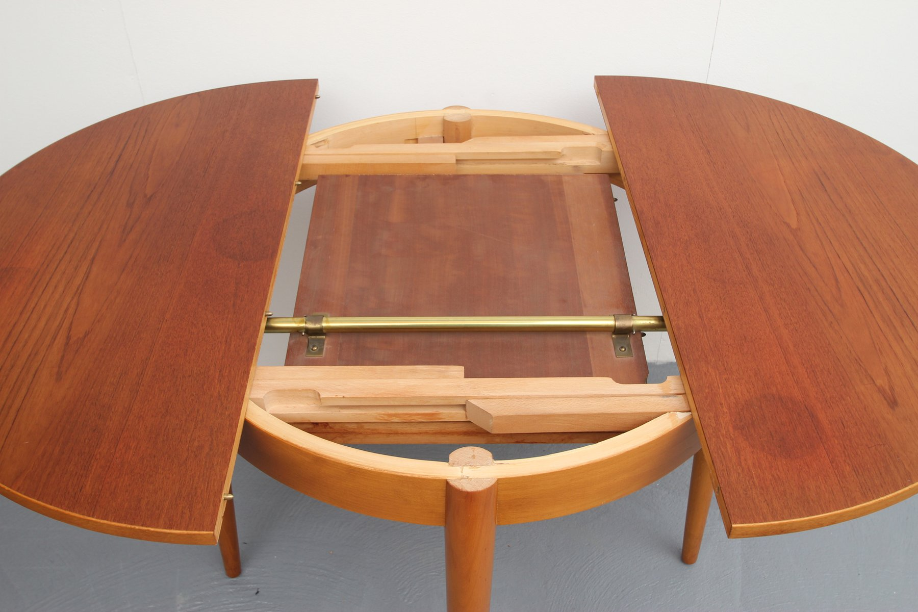 wooden vintage dining table mikemie