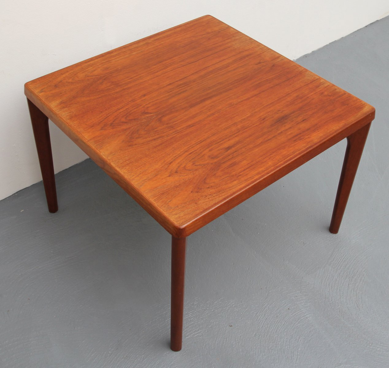 Vintage Teak Coffee Table By Henning Kjaernulf For Vejle Mobelfabrik For Sale At Pamono