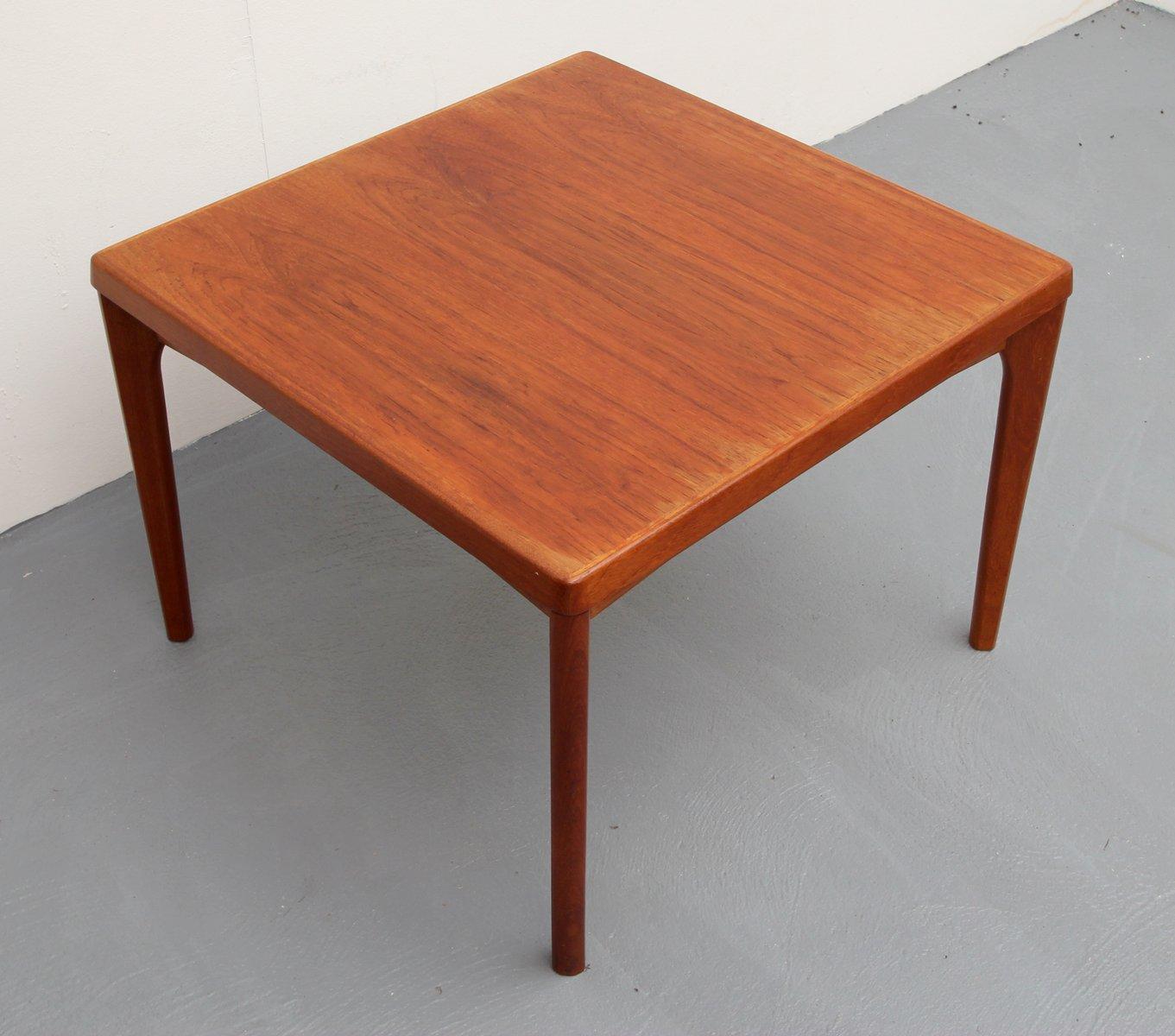 Vintage Teak Coffee Table By Henning Kjaernulf For Vejle Mobelfabrik For Sale At Pamono
