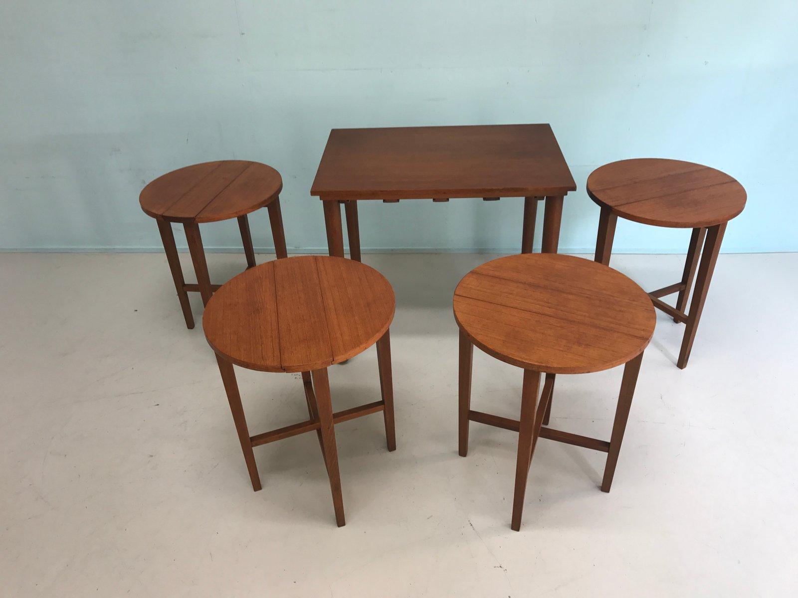 Vintage Nesting Tables ~ Vintage nesting side tables s for sale at pamono