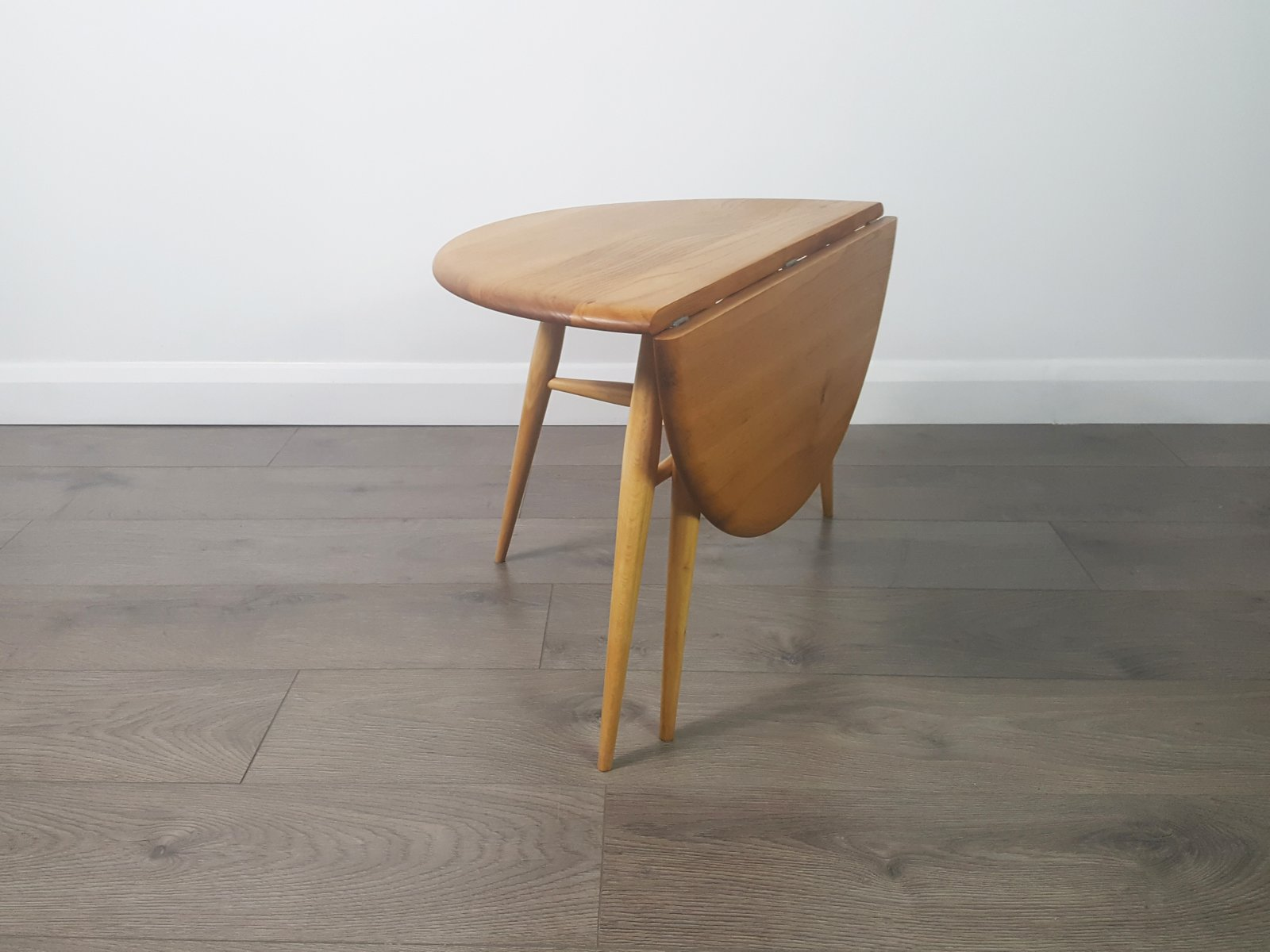 Vintage Folding Coffee Table By Lucian Ercolani For Ercol