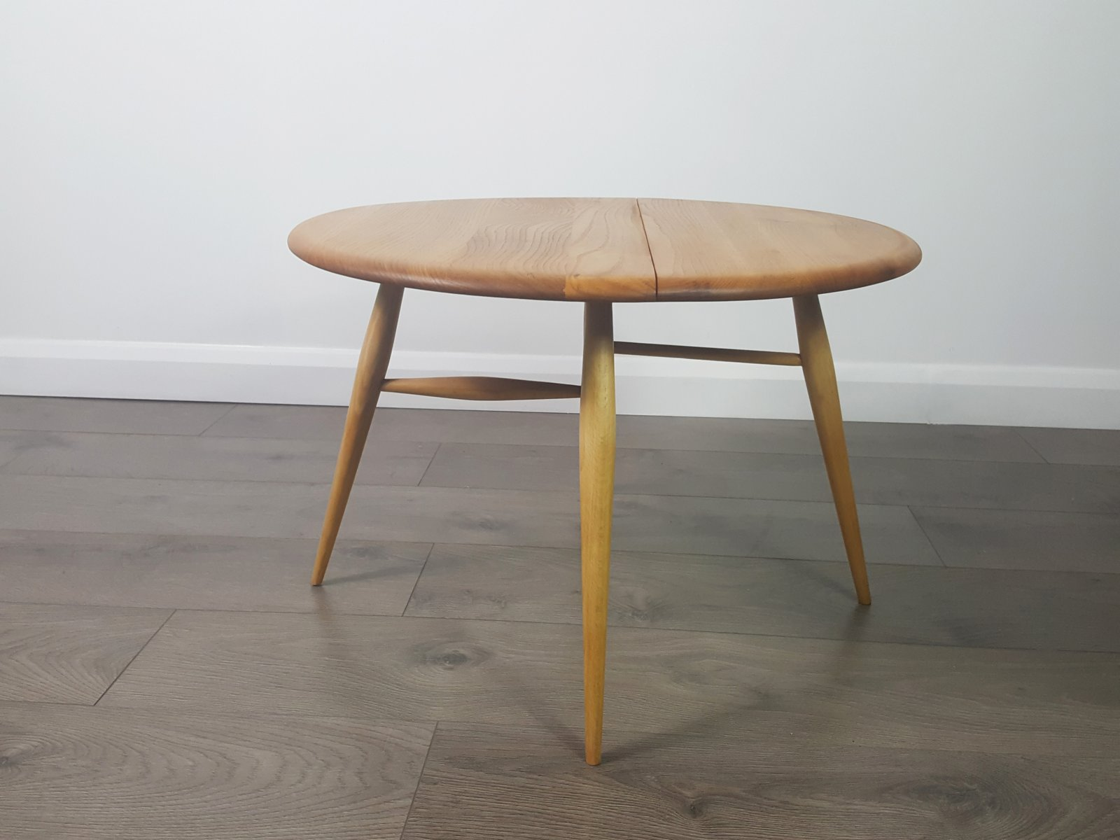 vintage folding coffee tablelucian ercolani for ercol for sale