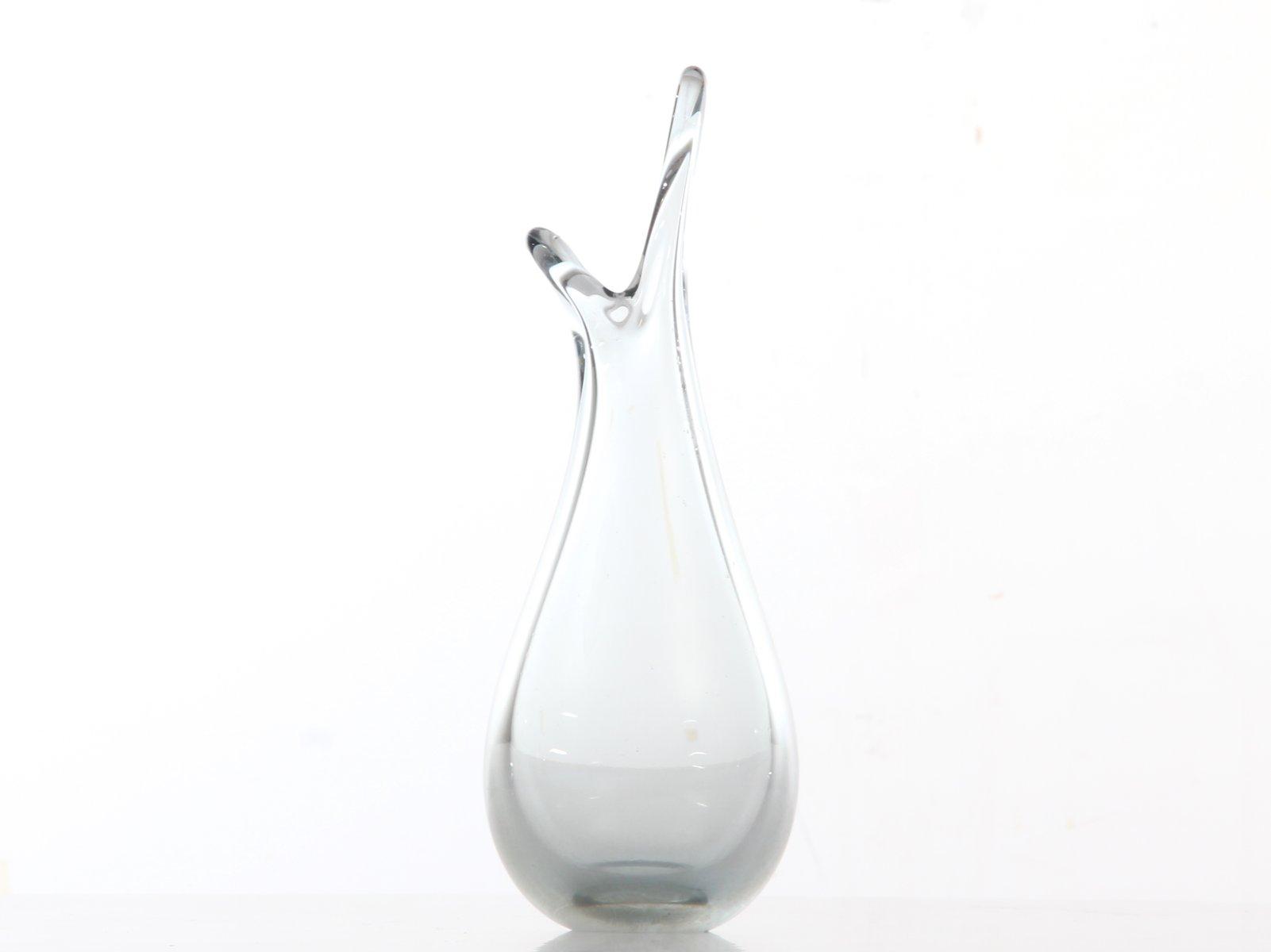 scandinavian glass vase by per l tken for holmegaard. Black Bedroom Furniture Sets. Home Design Ideas