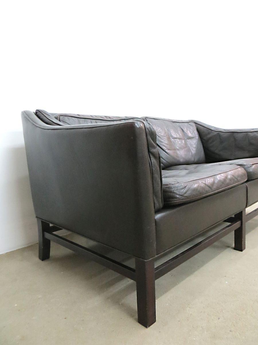 sofa aus b ffelleder palisander von georg thams f r grant mobelfabrik 1960er bei pamono kaufen. Black Bedroom Furniture Sets. Home Design Ideas