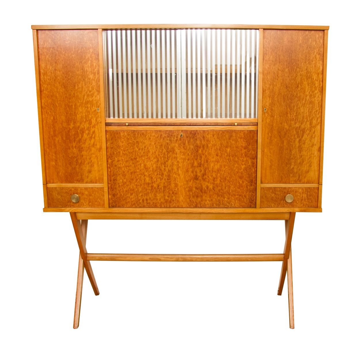 Mid century cocktail secretaire from grange furniture for Furniture dealers