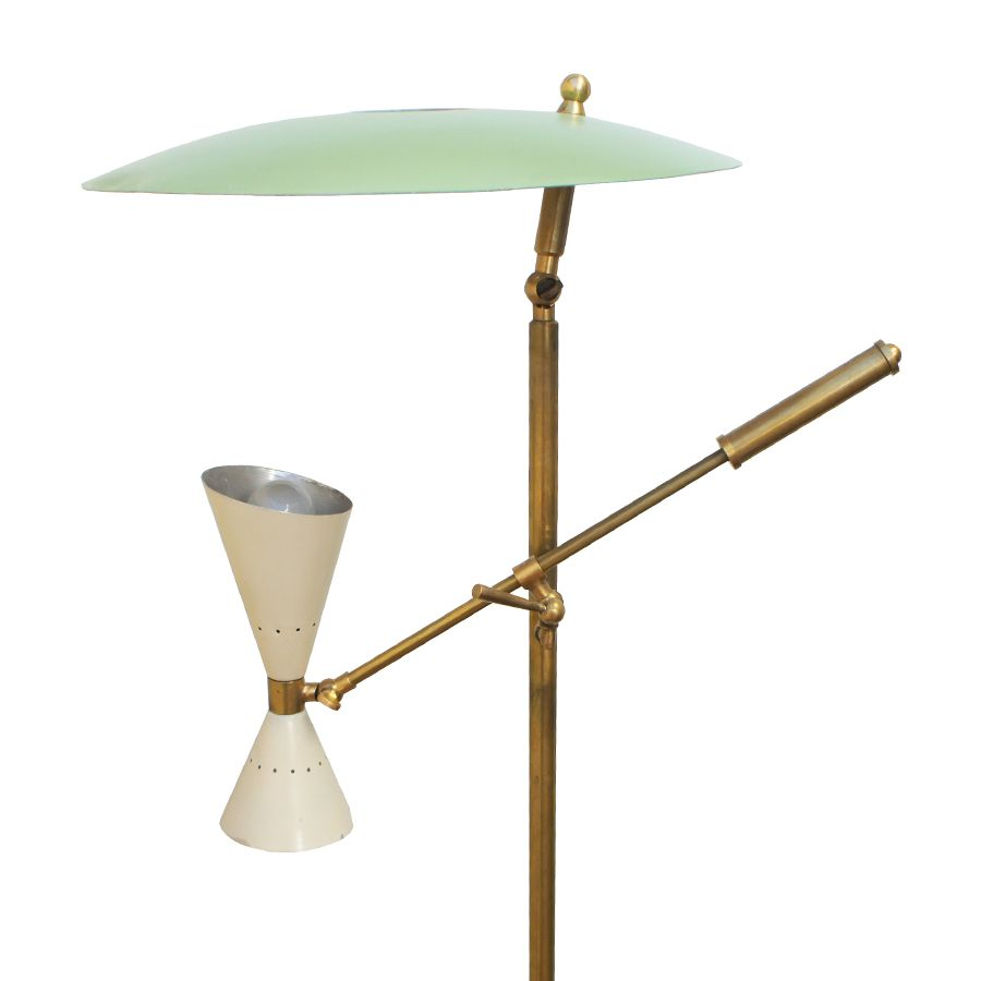 Italian floor lamp from stilnovo 1950s for sale at pamono for 1950s floor lamps