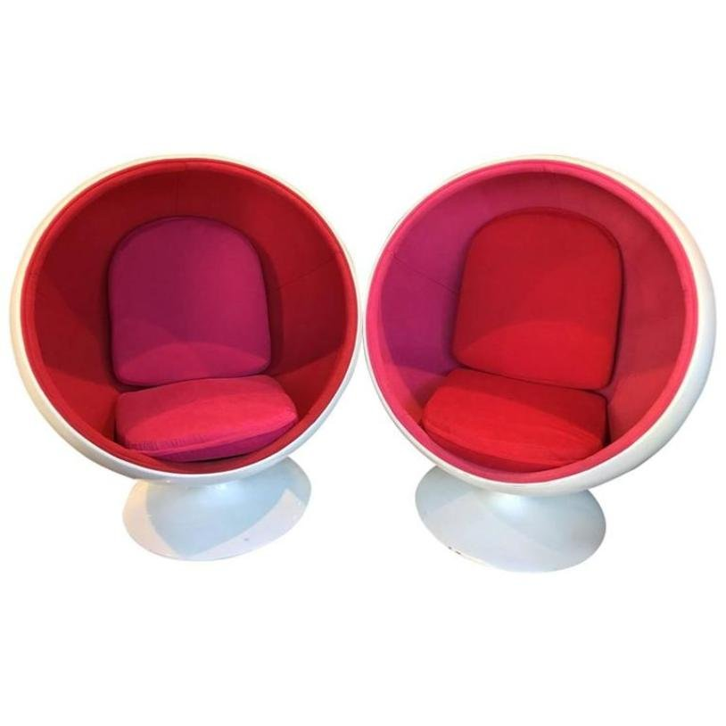 Ball Chairs By Eero Aarnio 1960s Set Of 2