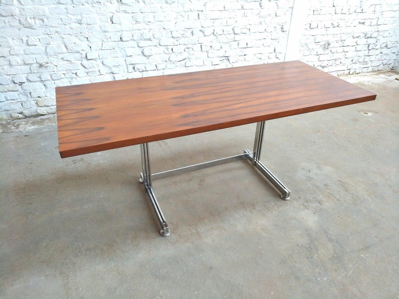 b ro schreibtisch von jules wabbes f r velca legnano milano 1960er bei pamono kaufen. Black Bedroom Furniture Sets. Home Design Ideas