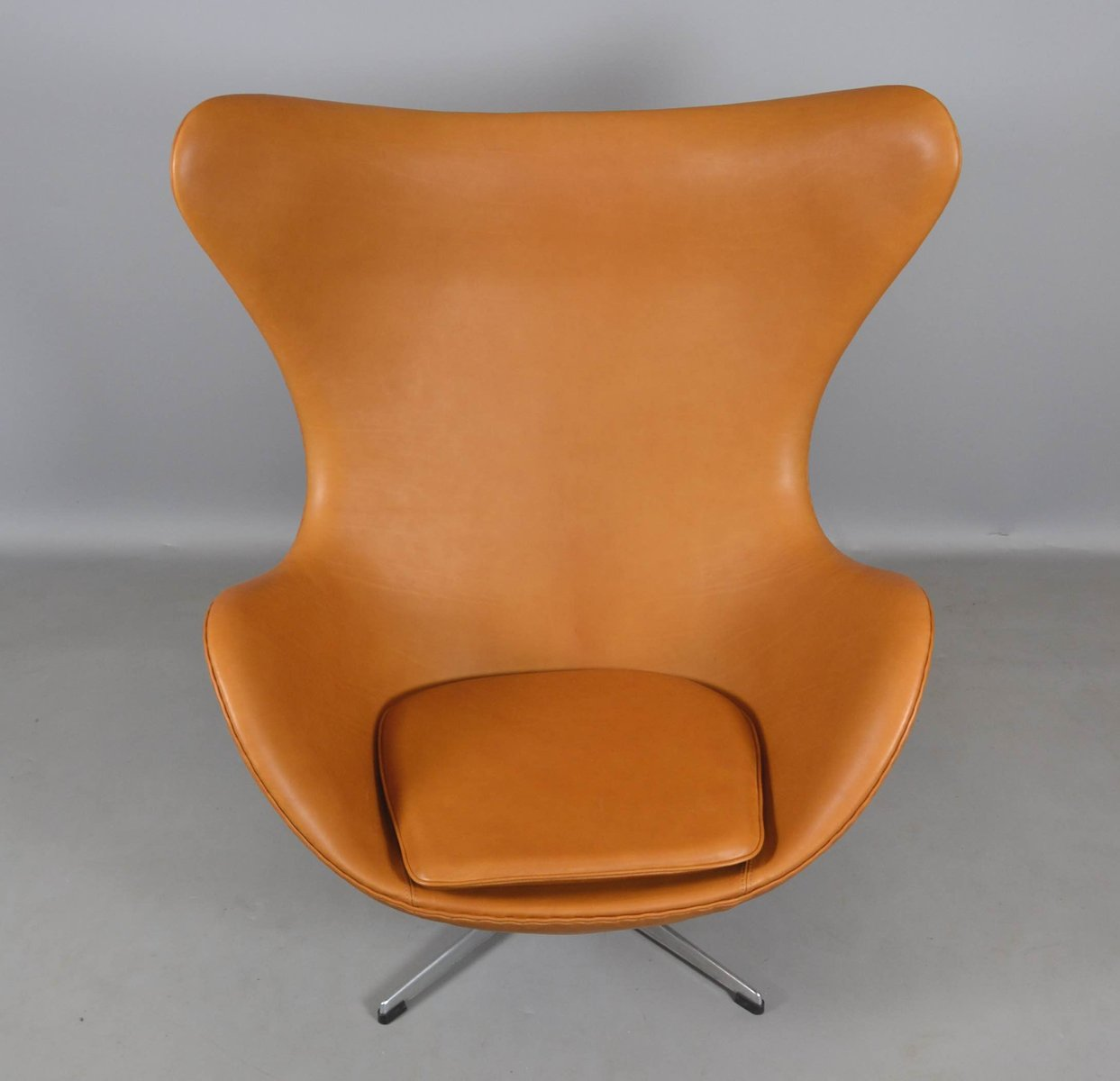 Awesome Excellent Leder Egg Chair Von Arne Jacobsen Fr Fritz Hansen Er Bei  Pamono Kaufen With