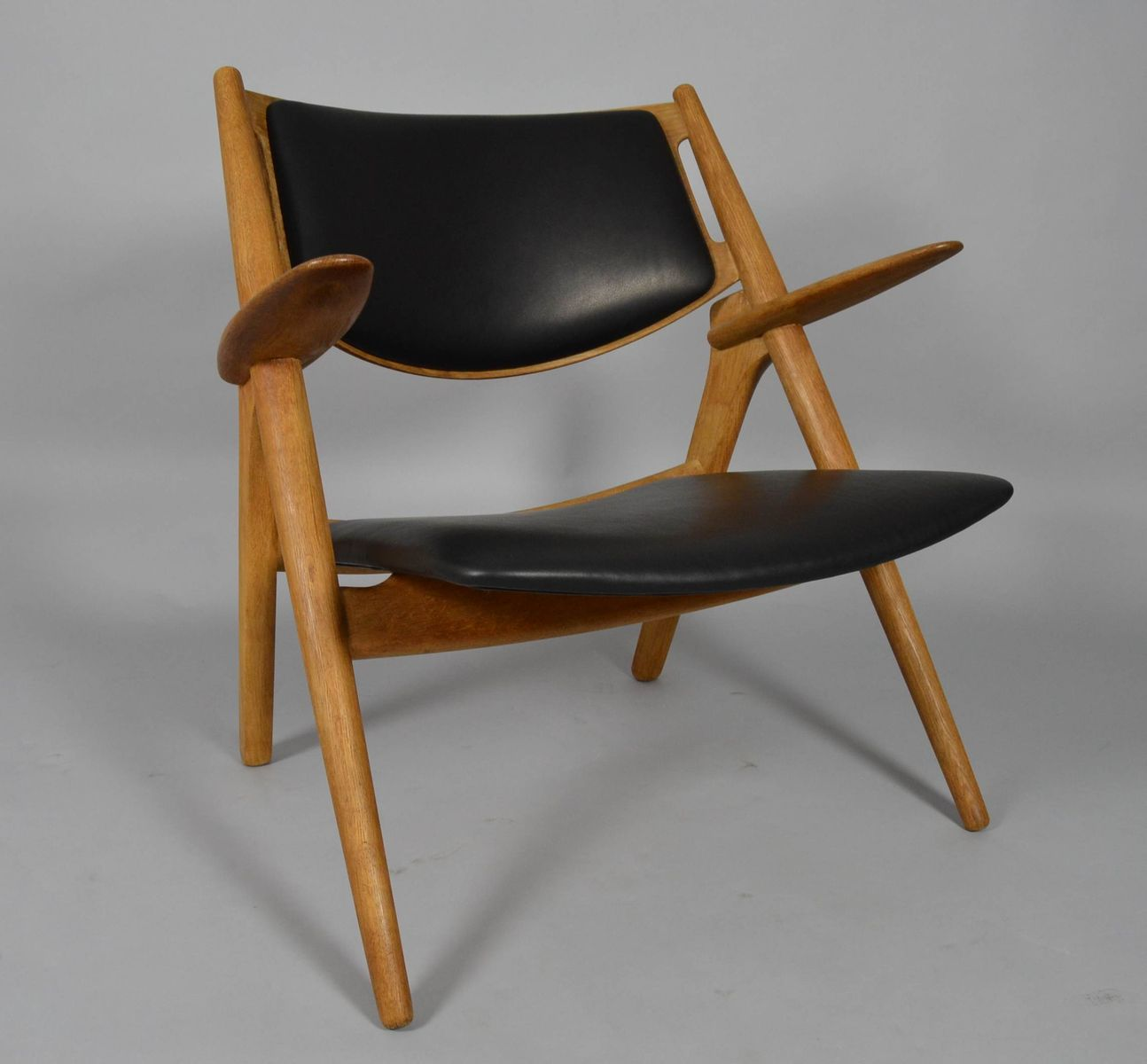 hans wegner stuhl hans wegner stool at 1stdibs vintage. Black Bedroom Furniture Sets. Home Design Ideas