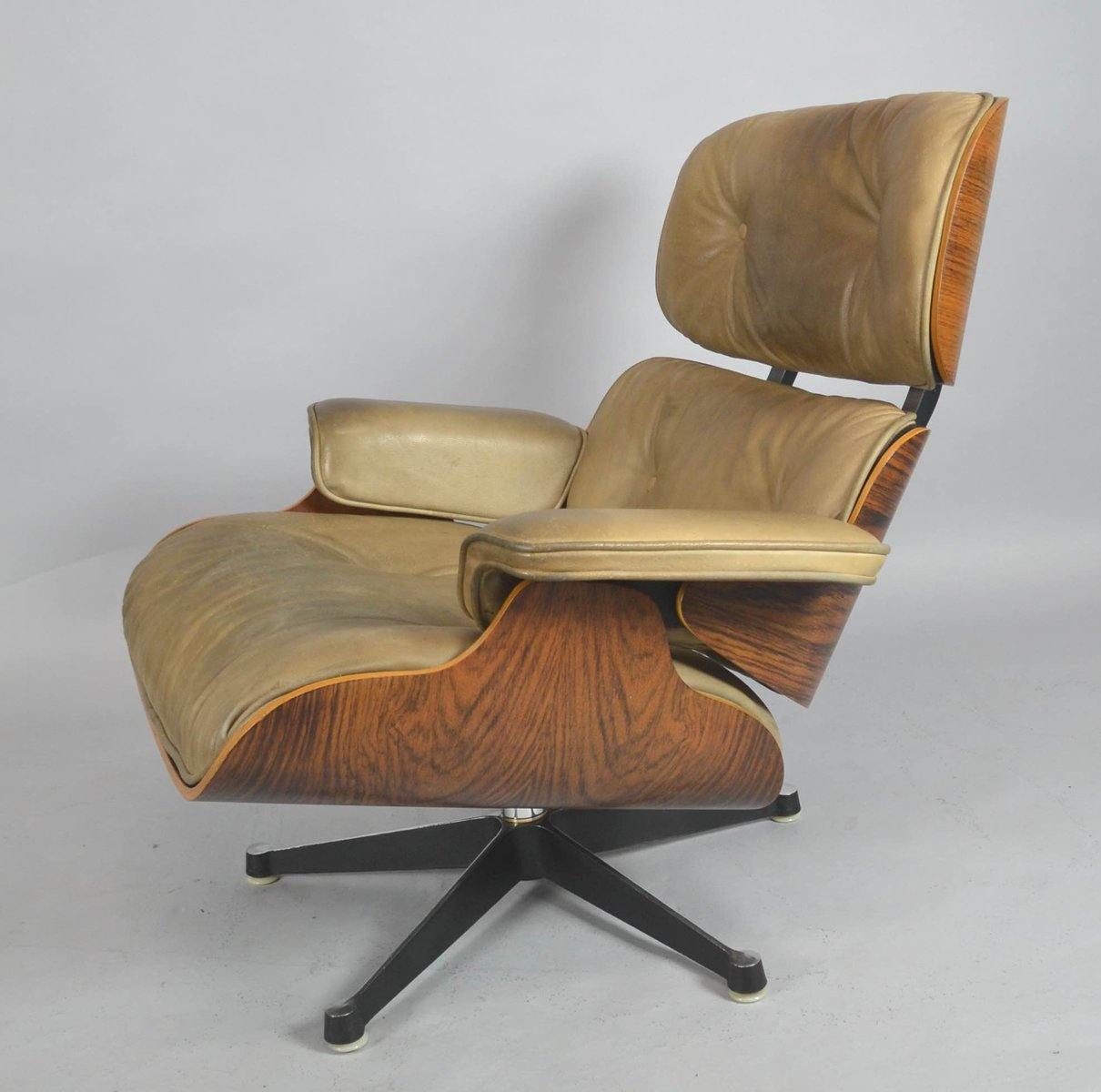 mid century lounge chair by charles ray eames for fehlbaum contura vitra for sale at pamono. Black Bedroom Furniture Sets. Home Design Ideas