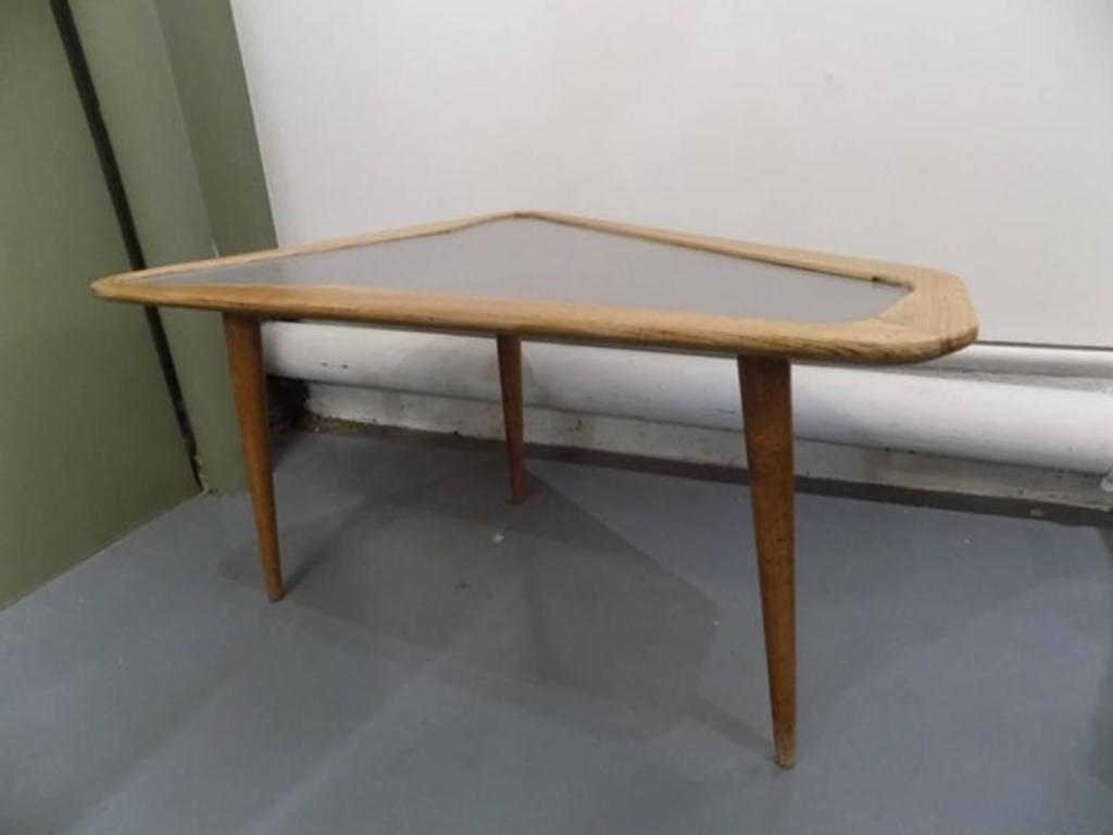 mid-century free-form coffee tablescharles ramos, 1950s, set