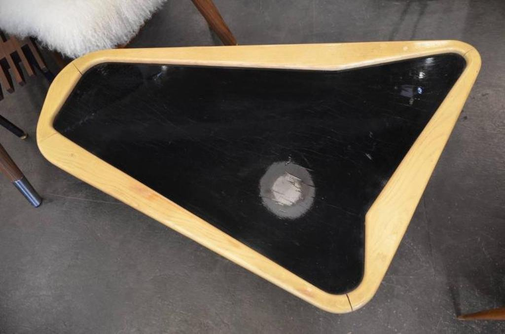 mid-century free-form coffee tablecharles ramos, 1950s for