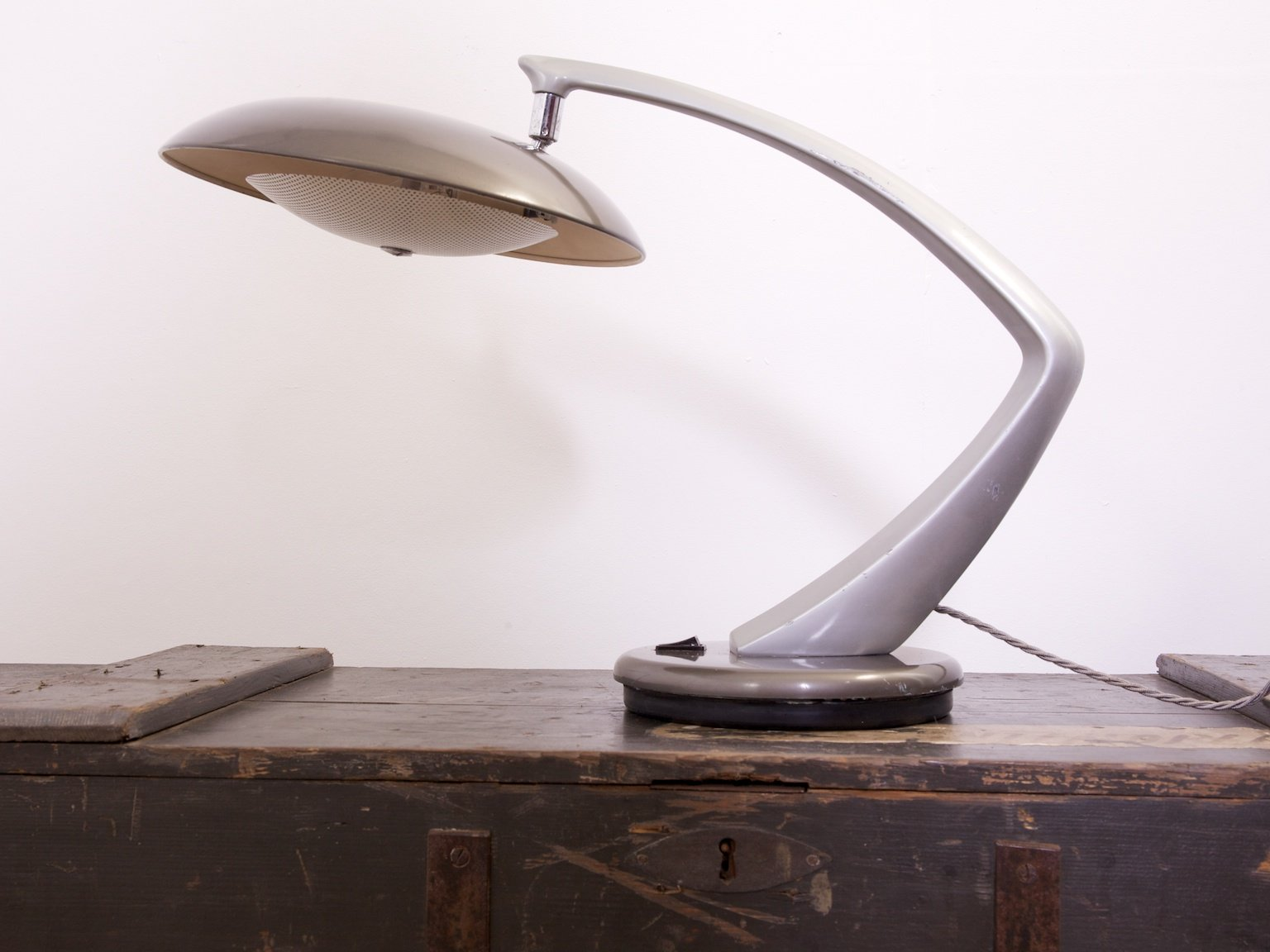 Mid century wheat sheaf coffee table irish antique dealers - Mid Century Boomerang Table Lamp From Fase