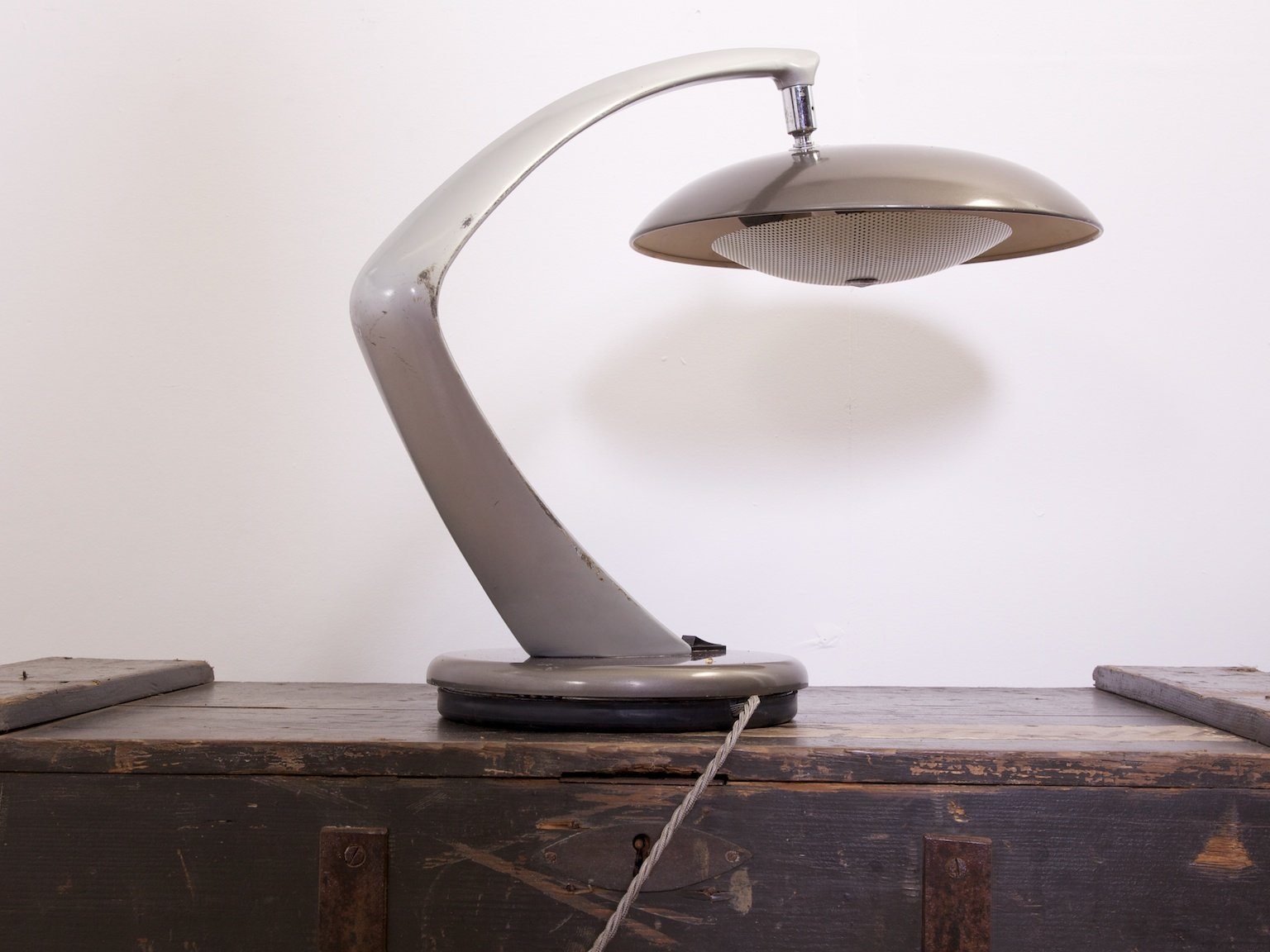 Mid century boomerang table lamp from fase for sale at pamono for Z gallerie century table lamp