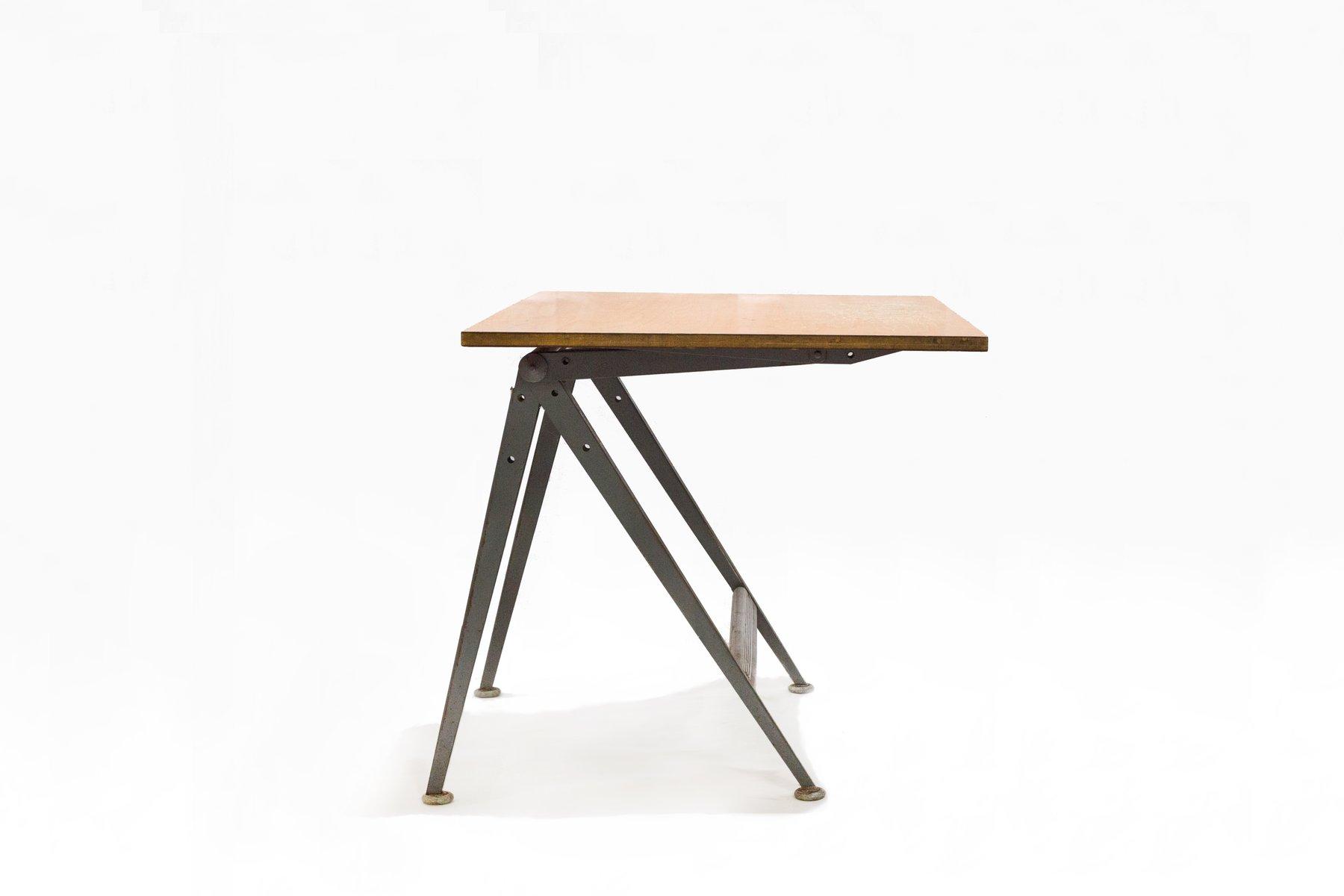 Vintage Drawing Table By Friso Kramer For Ahrend De Cirkel