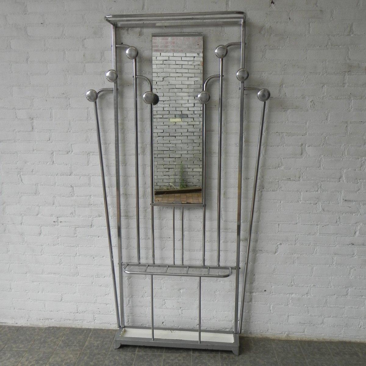 art deco kleiderst nder mit schirmst nder spiegel bei. Black Bedroom Furniture Sets. Home Design Ideas