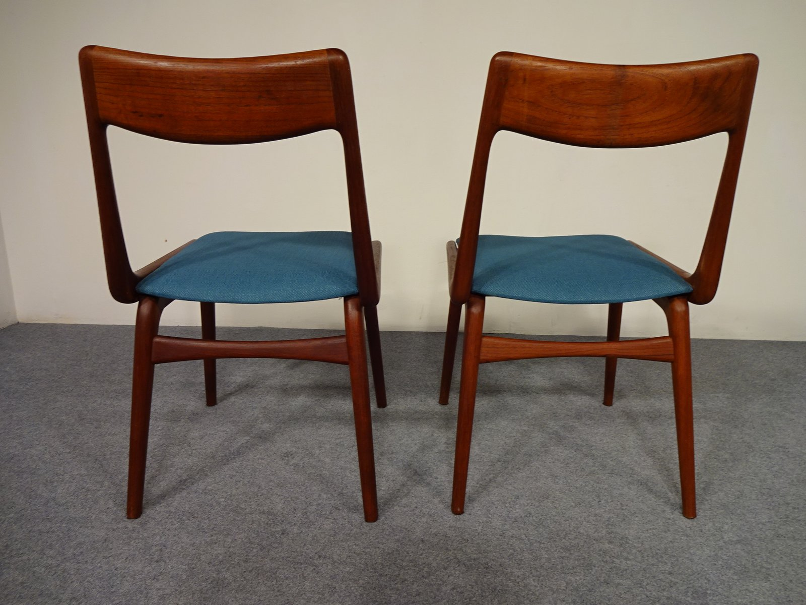 Vintage Boomerang Dining Chairs By Erik Christensen For Slagelse M Belv Rk S