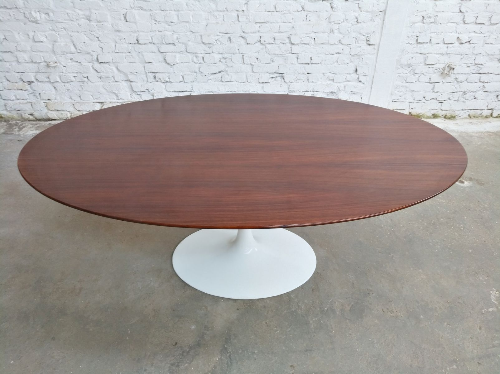 Oval Rosewood Dining Table by Eero Saarinen for Knoll  : oval rosewood dining table by eero saarinen for knoll international 1960s 5 from www.pamono.co.uk size 1604 x 1200 jpeg 152kB